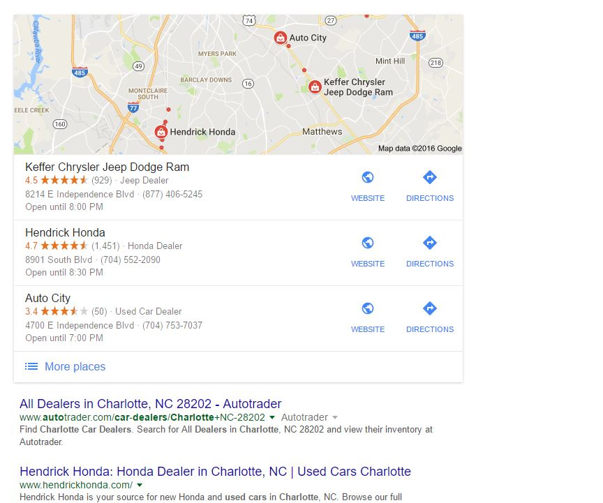Charlotte Local SEO Services - Show Up in Google Maps